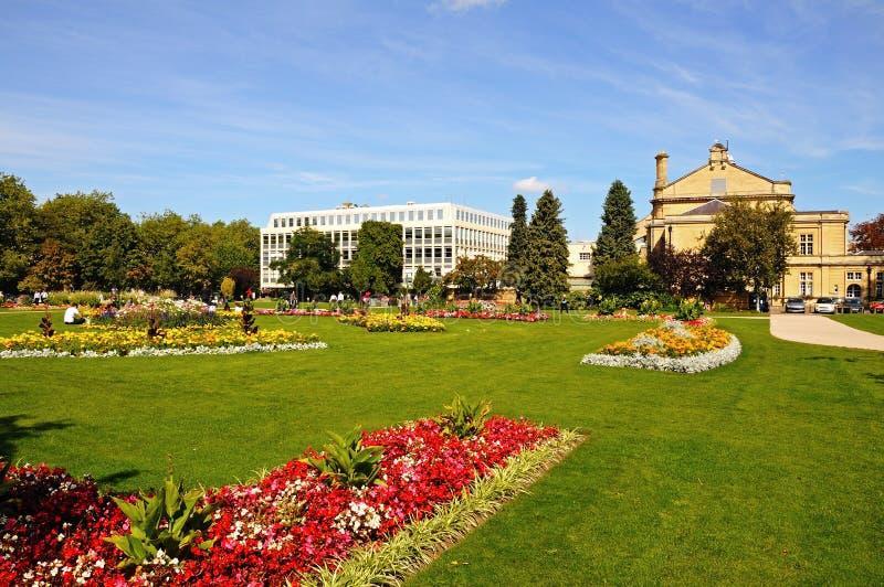 Jardins impériaux, Cheltenham photo libre de droits