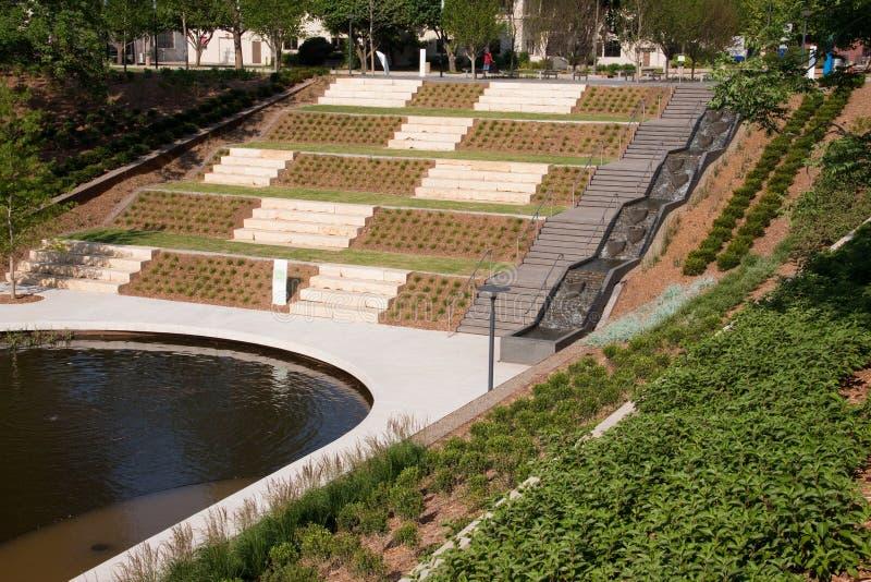 Jardins inumeráveis no Oklahoma City imagens de stock