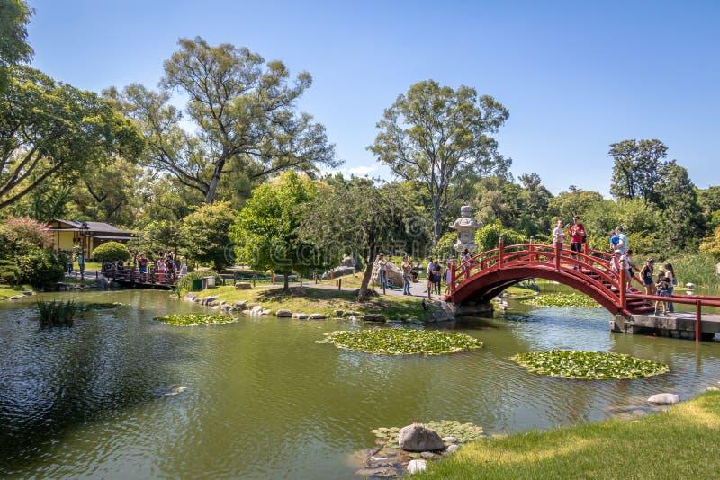 Jardins japonais - Buenos Aires, Argentine photos libres de droits