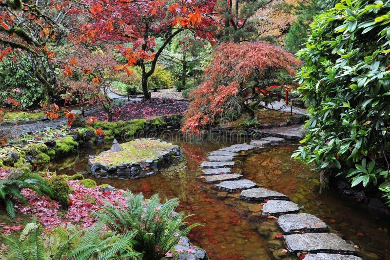 Jardins japoneses imagem de stock royalty free imagem for Jardin japones cursos