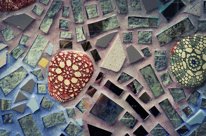 Jardins magiques : Construction en verre de tuile de Philadelphie images libres de droits