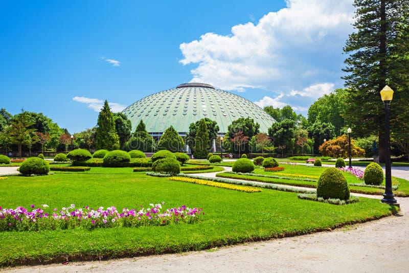 Jardins Palacio De Cristal obrazy royalty free