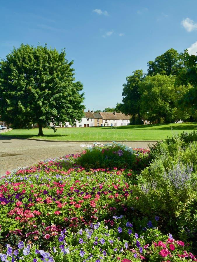 Jardins par l'abbaye photographie stock libre de droits
