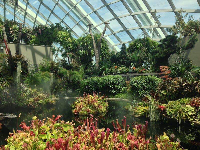 Jardins par le compartiment photo libre de droits