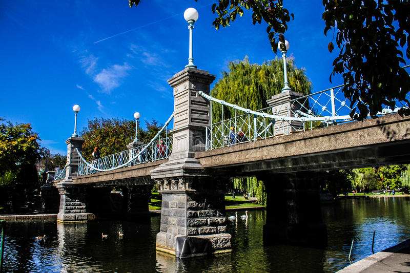 Jardins publics de Boston photos stock