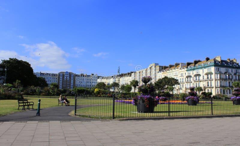 Jardins Reino Unido de Hastings imagens de stock
