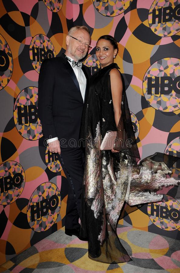 Jared Harris, Allegra Riggio royalty free stock photo