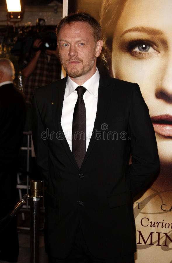 Jared Harris. At the Los Angeles premiere of 'The Curious Case Of Benjamin Button' held at the Mann's Village Theater in Westwood on December 8, 2008 stock photo