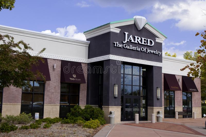 Jared Jewelers fotografia de stock