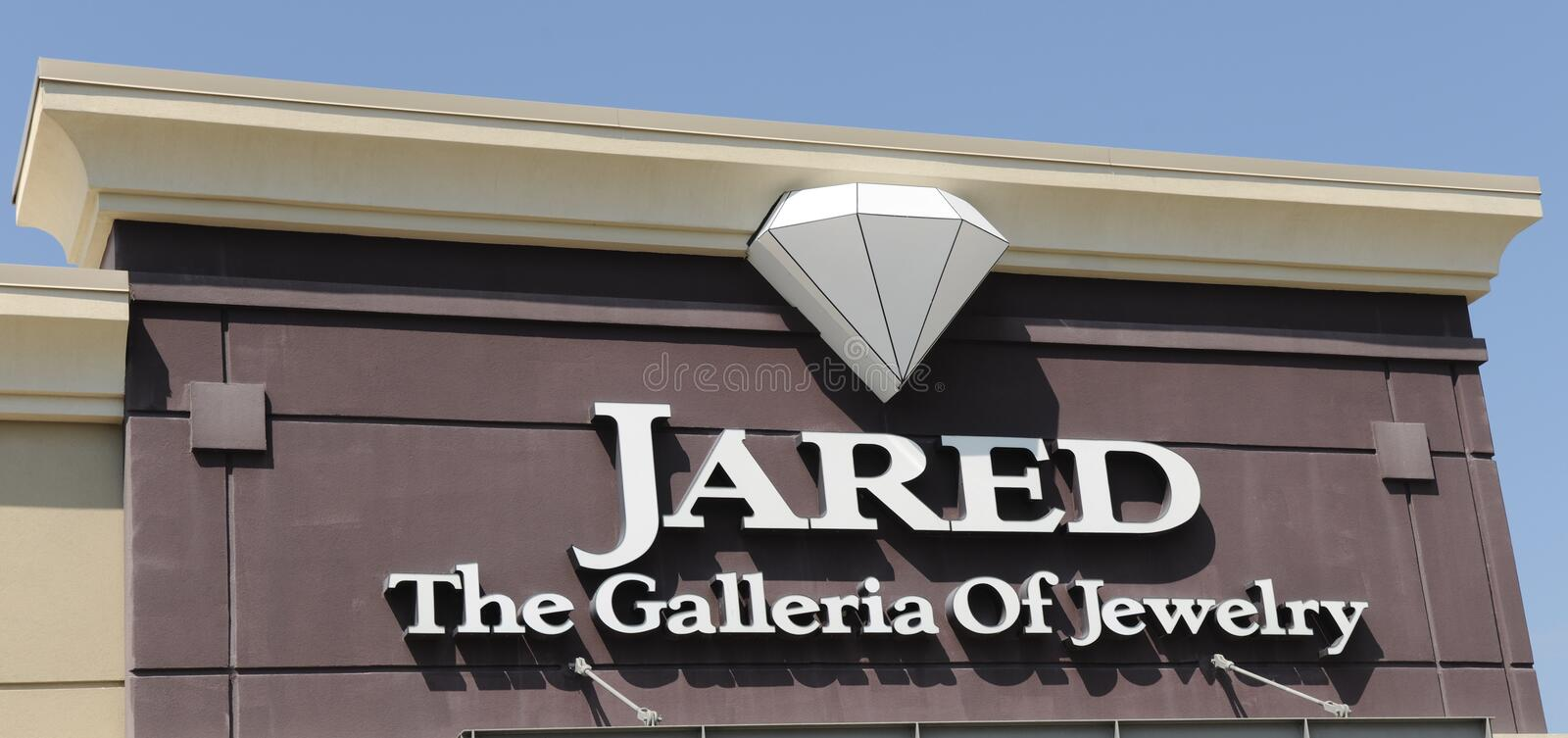 Jared Jewelry Store editorial stock photo Image of charm 76436368