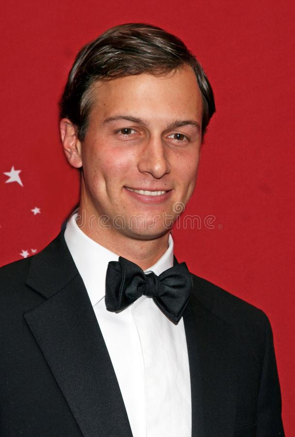 Jared Kushner. Arrives on the red carpet inside the Time Warner Center in Manhattan for the Time 100 Most Influential People Gala on May 8, 2007. At the time stock image