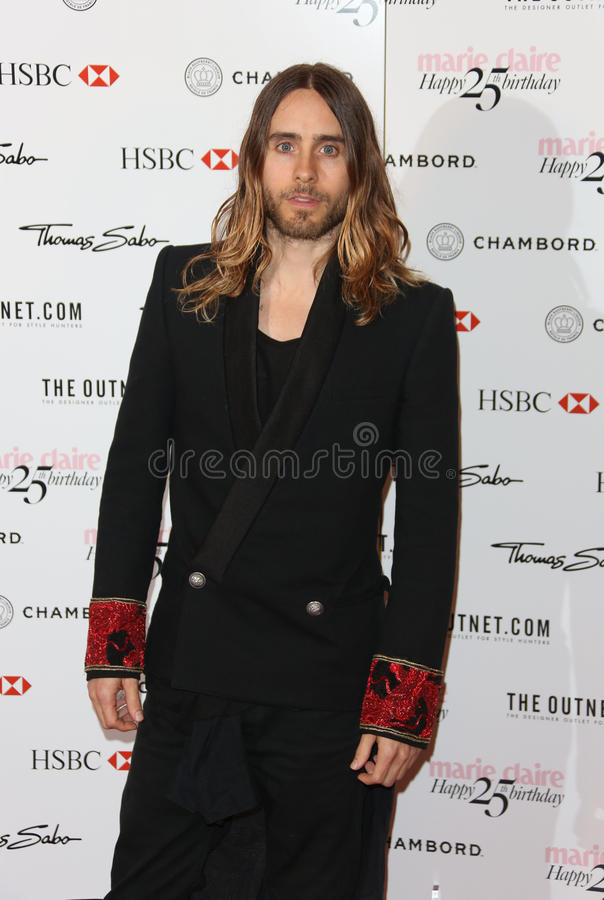 Jared Leto. Arriving for the Marie Claire's 25th Anniversary celebration at the Cafe Royal Hotel, London. 17/09/2013 Picture by: Henry Harris / Featureflash stock photography