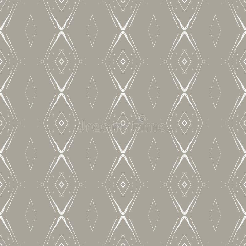jaren '30 vector geometrisch naadloos patroon vector illustratie