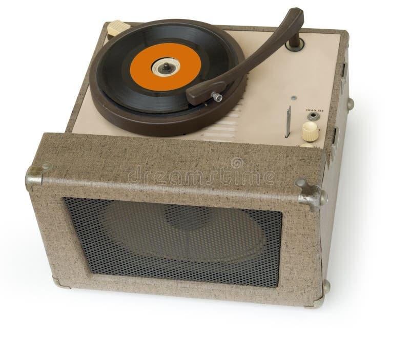 jaren '50 Fonograaf stock afbeeldingen