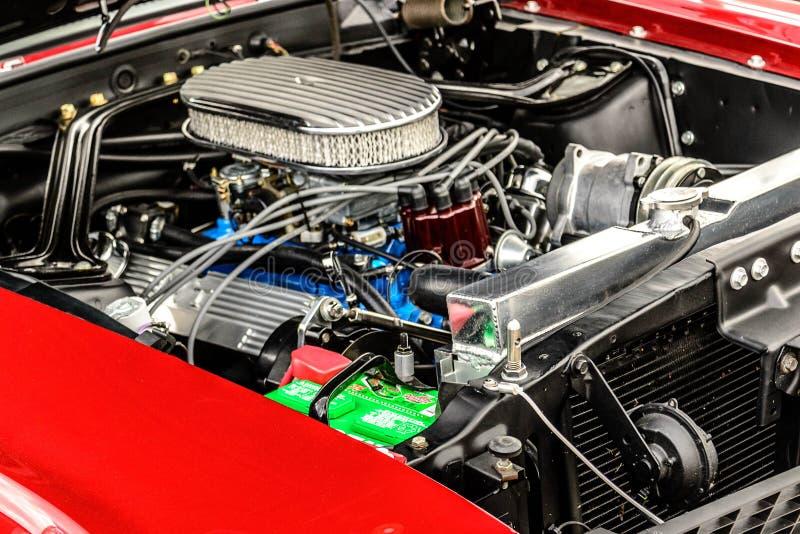 jaren '60 Ford Mustang royalty-vrije stock afbeeldingen