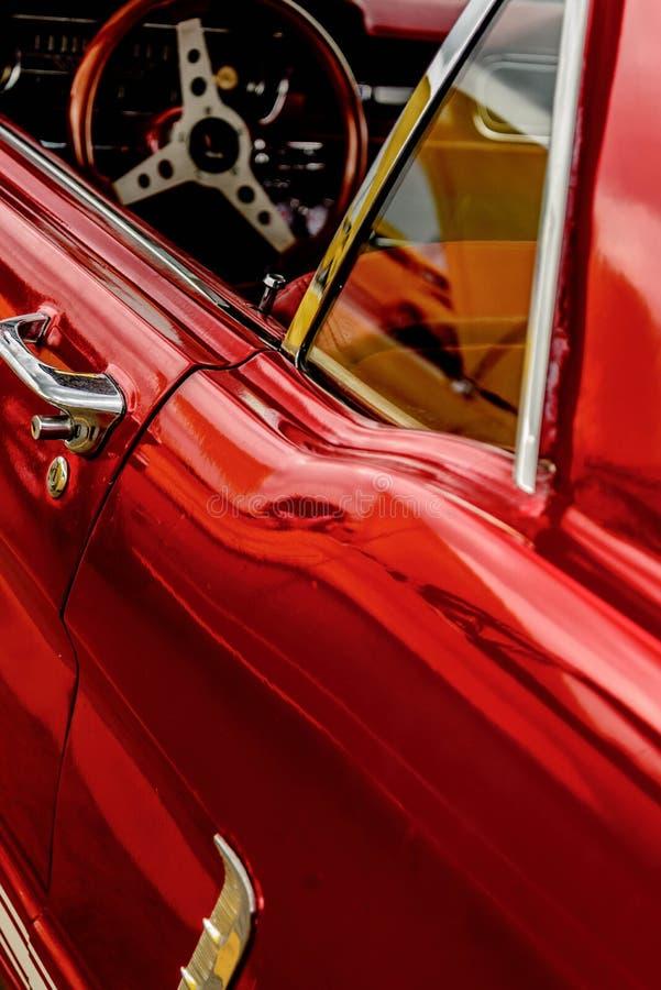 jaren '60 Ford Mustang royalty-vrije stock foto