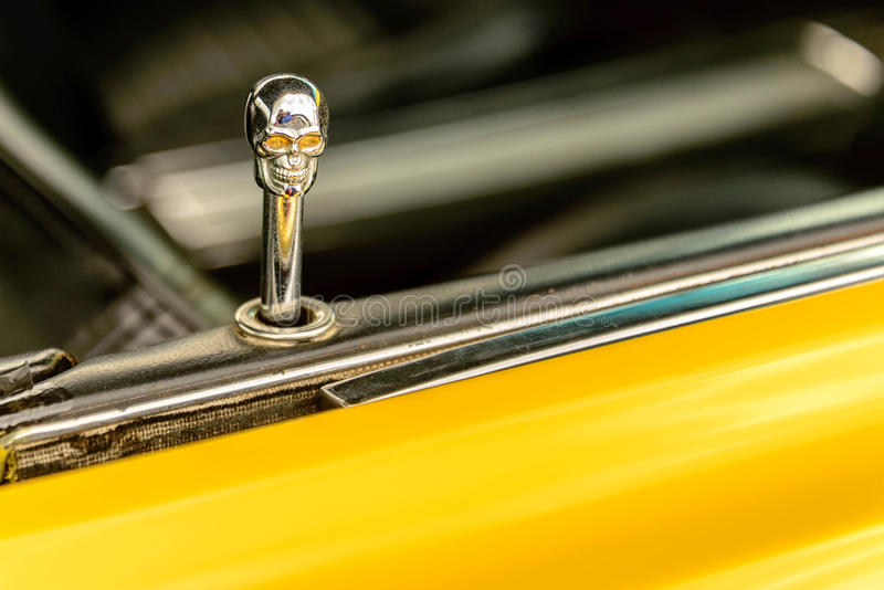 jaren '60 Ford Mustang stock foto's