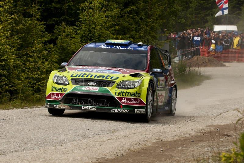 Jari-Matti Latvala fotografia de stock
