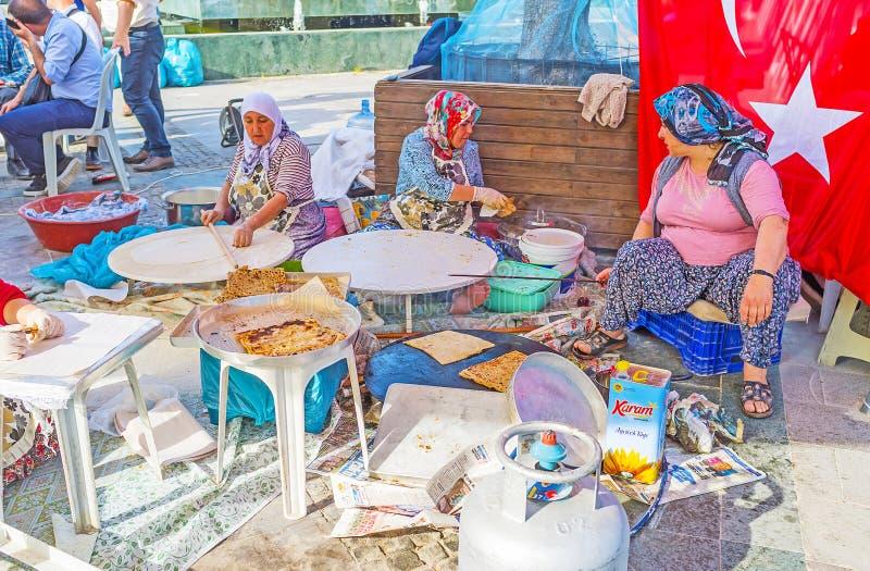 Jarmark w Antalya obrazy stock