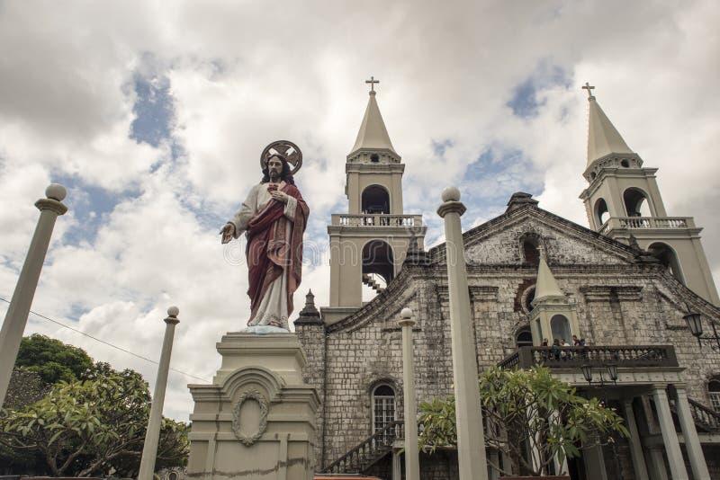 Jaro Evangelical Church imagens de stock royalty free