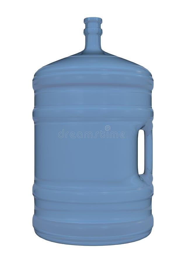 Jarro de água no branco ilustração stock
