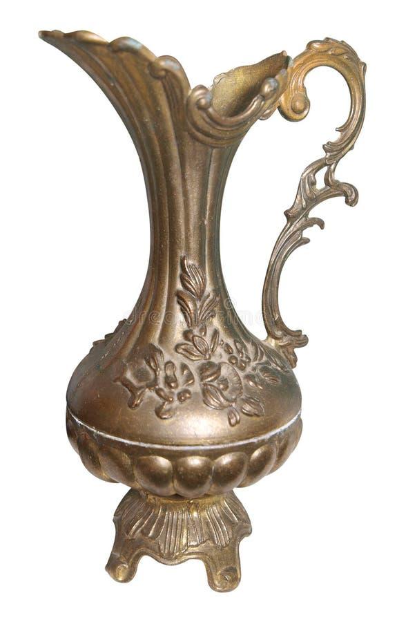 Jarro de bronce antiguo imágenes de archivo libres de regalías