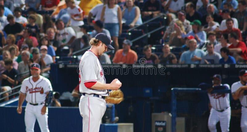 Jarro de Red Sox fotografia de stock