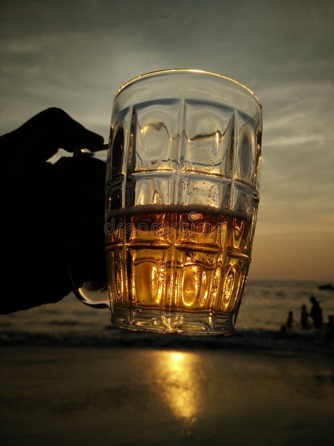 Jarro grande de la cerveza foto de archivo
