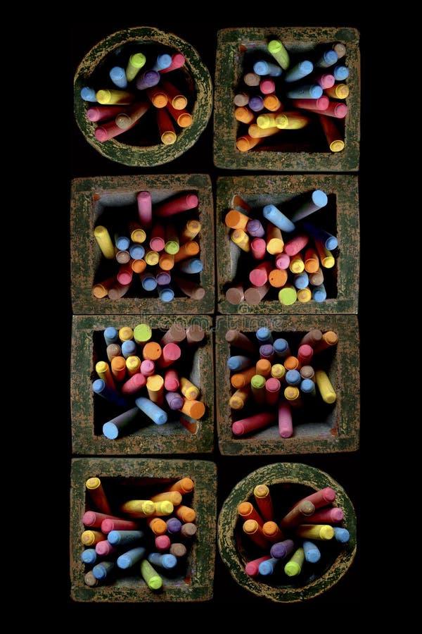 Download Jars of chalk stock image. Image of jars, diversity, pastel - 36475