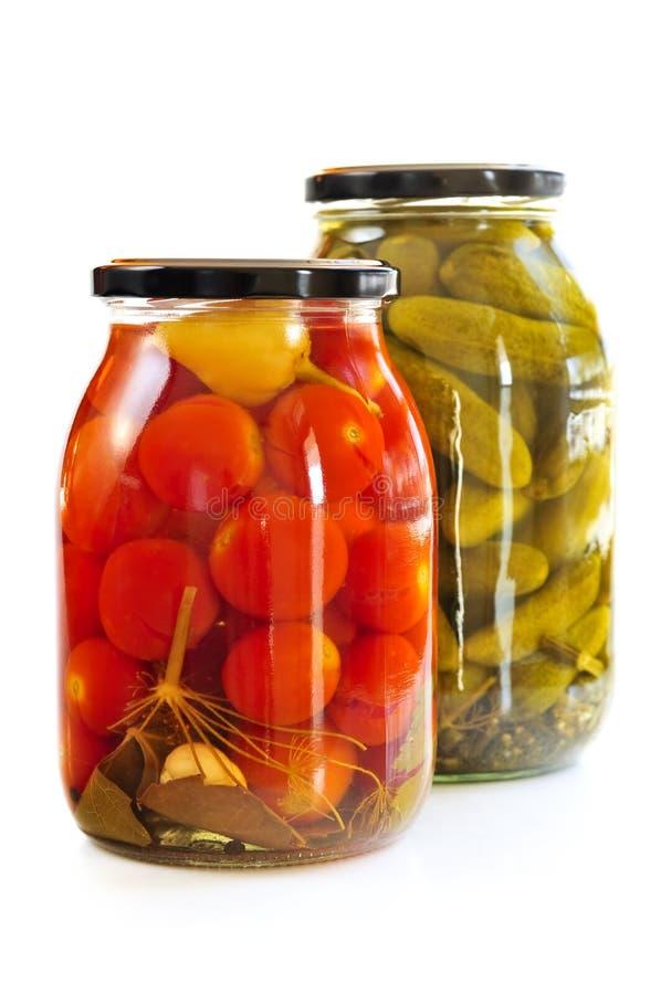 Free Jars Of Pickles Stock Photos - 8120903