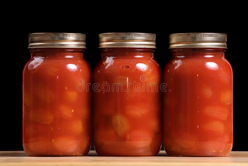 Download Jars Of Tomatoes Stock Photo - Image: 11616010