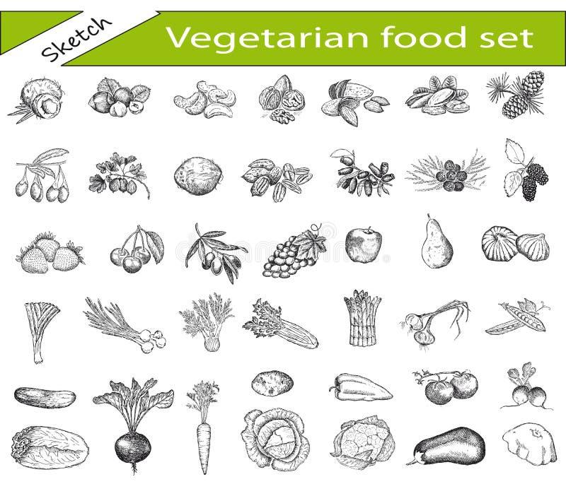 Jarski jedzenie ilustracji