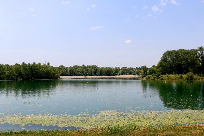 Jarun,萨格勒布 免版税库存照片