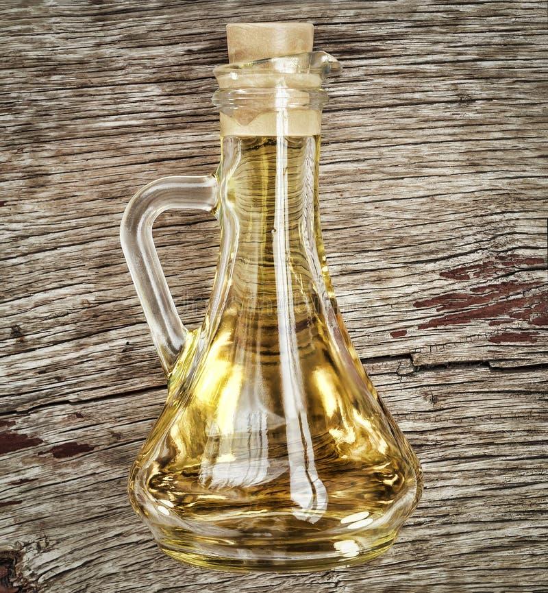 Jarzynowy olej, oliwa z oliwek, słonecznikowy olej, flaxseed olej, unrefined obrazy royalty free