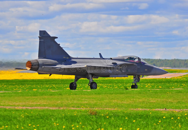 Download Jas 39 Gripen stock image. Image of saab, military, fighter - 23638405