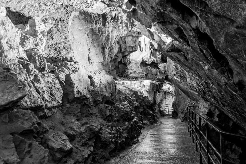 Jaskinia Gough w Cheddar obraz stock