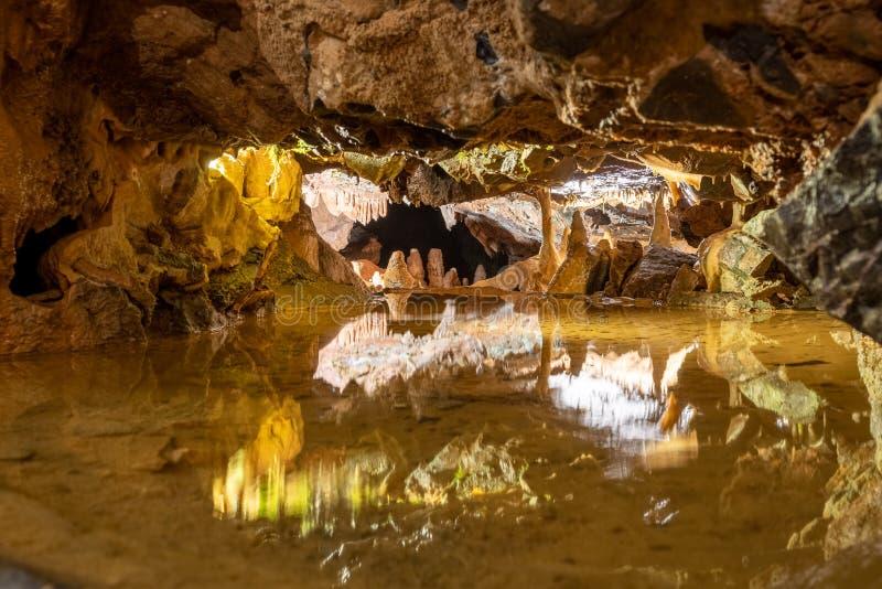 Jaskinia Gough w Cheddar zdjęcie stock