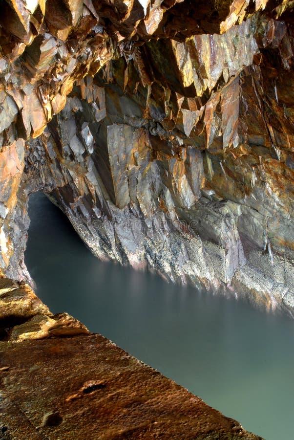 jaskiniowy złocisty nowa pośpiechu scotia fotografia royalty free