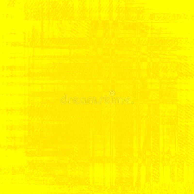 Jaskrawa żółta tło tekstura ilustracja wektor