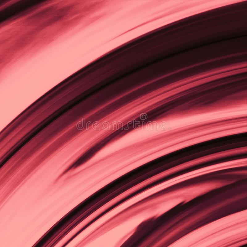 Jaskrawa rozjarzona brezentowa farba Muśnięć uderzeń ręka rysujący brezentowy druk ilustracja wektor