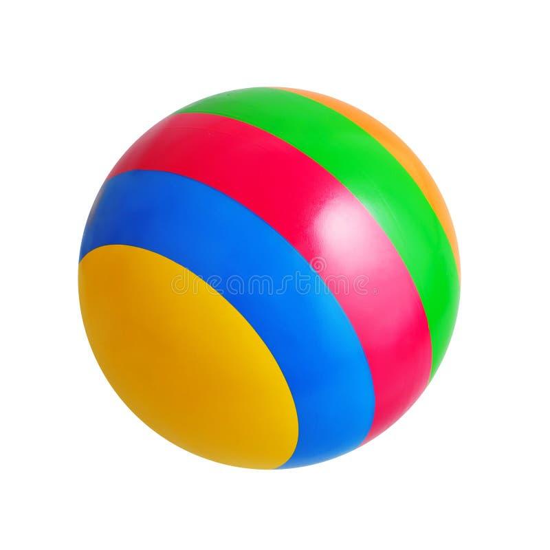 Jaskrawa zabawkarska piłka obrazy stock