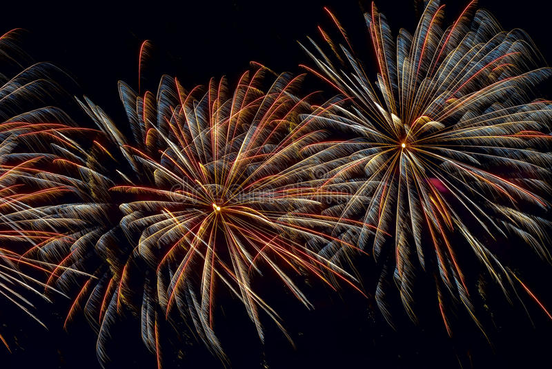 Jaskrawe stubarwne rozjarzone migotanie gwiazdy i sfery, fajerwerki Elegancki tło dla wszystkie świątecznych okazj obrazy stock