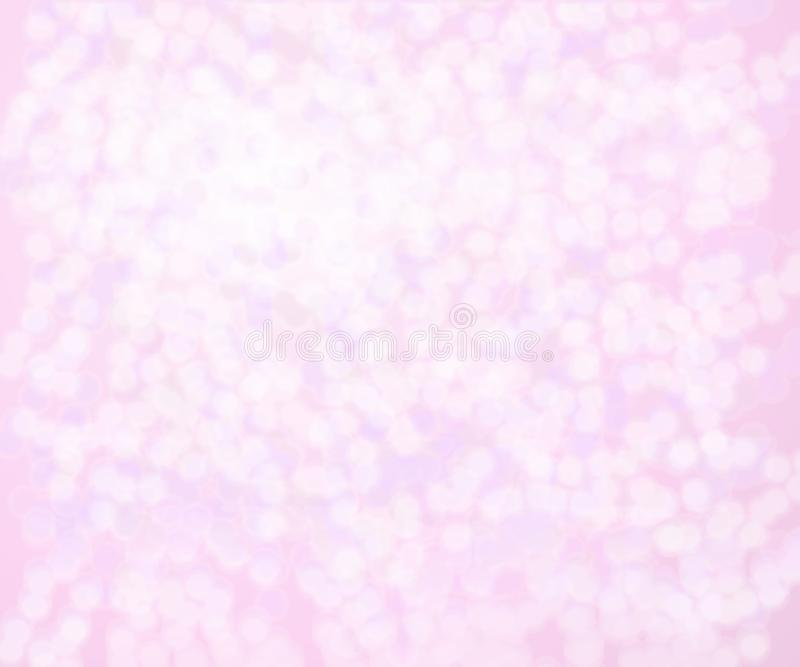 Jaskrawe tło menchii gradientu kropki zdjęcia royalty free
