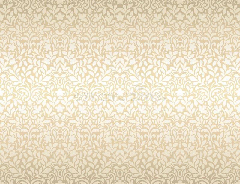 Jaskrawego luksusowego rocznika tapetowy bridal, z?ocisty, Jaskrawy, ?lub, fotografia royalty free