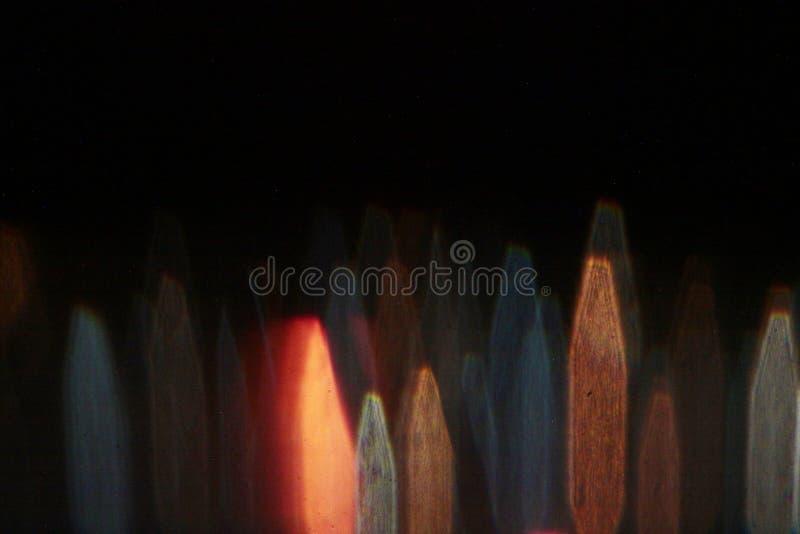 Jaskrawi projekty w nocy przestrzeni zdjęcie royalty free
