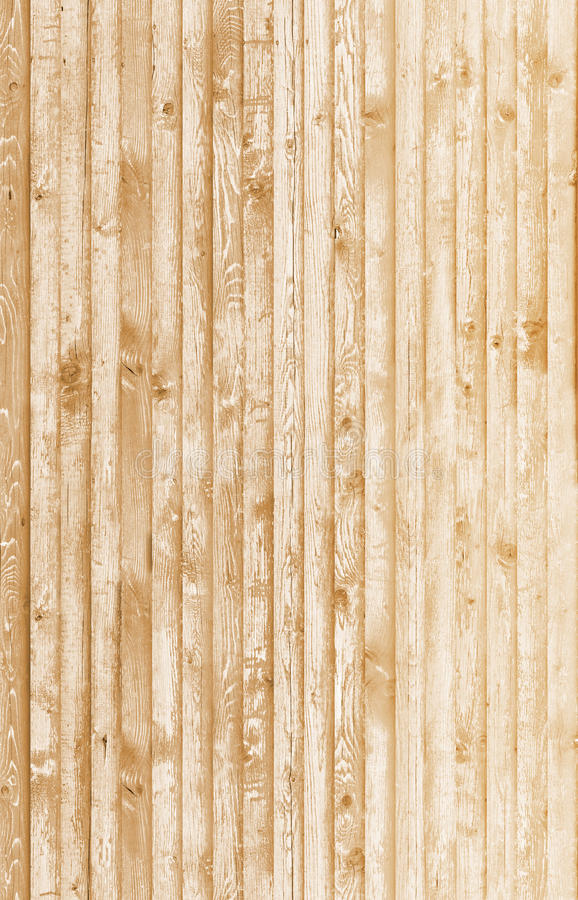 Jaskrawy żółty drewno zdjęcia royalty free