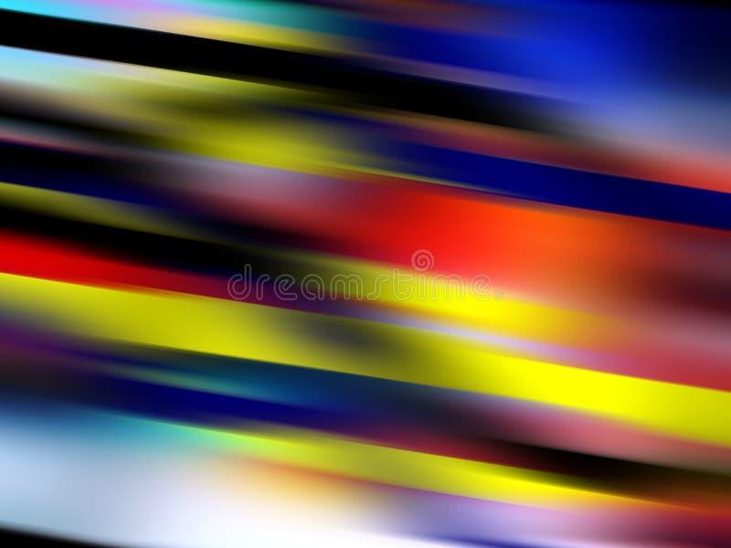 Jaskrawy żywy kolorowy miękkich świateł tło, grafika, abstrakcjonistyczny tło i tekstura, ilustracji
