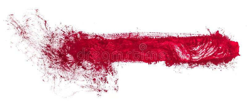 Jaskrawy abstrakcjonistyczny obraz malujący z akrylowymi farbami ilustracji