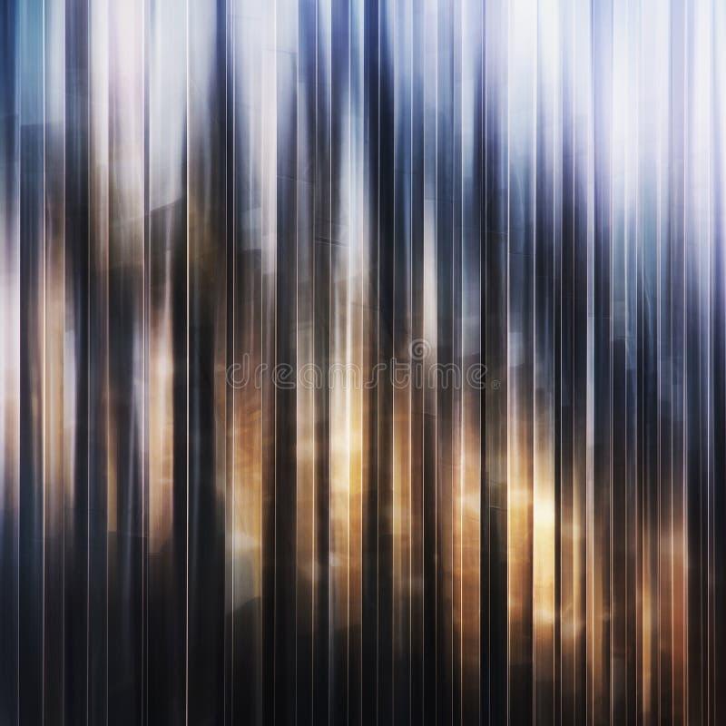Jaskrawy abstrakcjonistyczny skład pionowo linie ilustracji