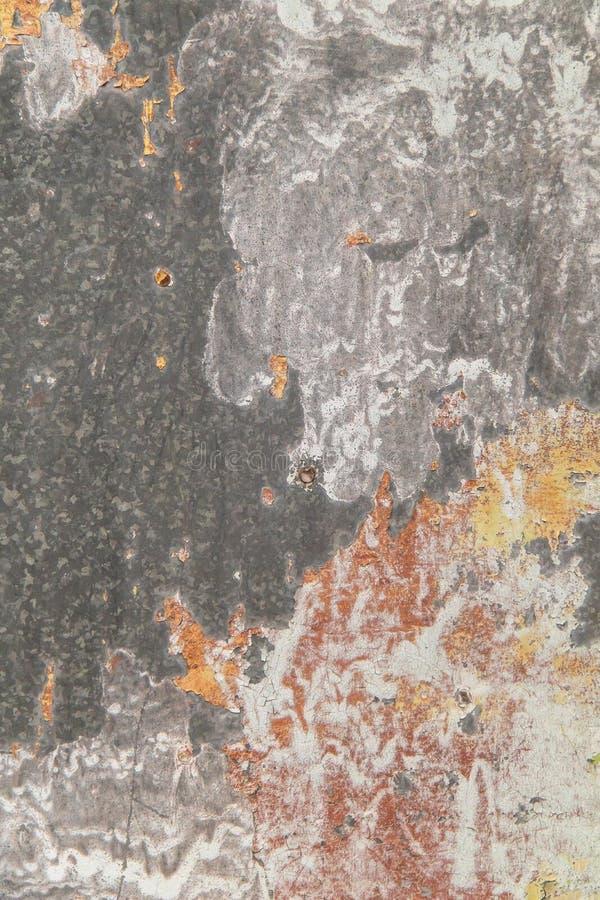 Jaskrawy ekspresyjny tło różni kolory na metalu obraz royalty free